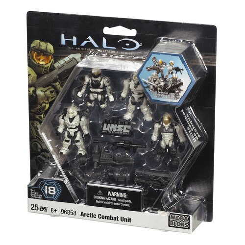 Halo Combat Unit UNSC Arctic Combat Unit