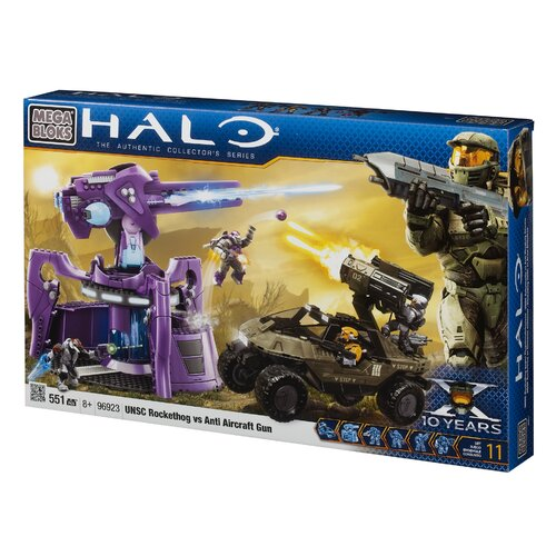 Halo UNSC Rockethog Vs Anti Aircraft Gun