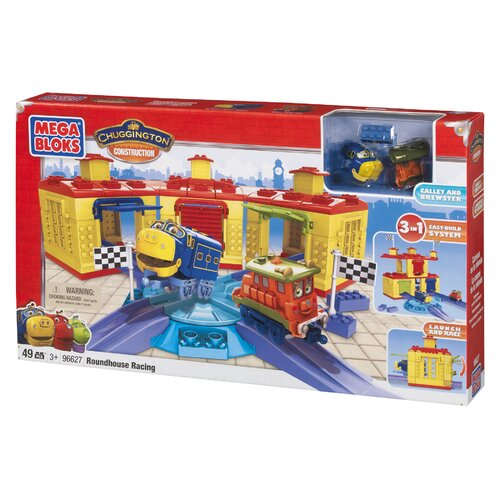 Mega Brands Chuggington Construction - Roundhouse Racing Brewster and Calley
