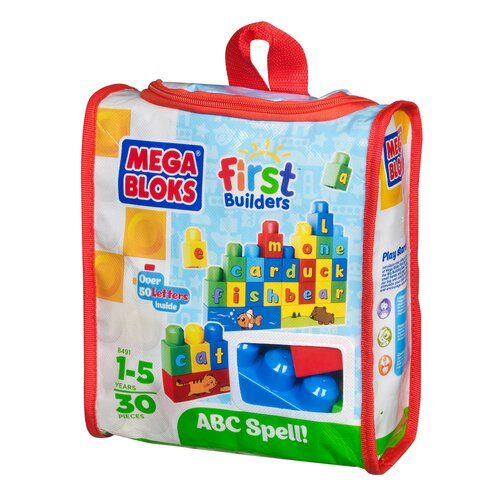 Mega Brands Build 'n Learn ABC Spell