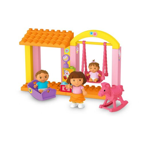 Mega Brands Nickelodeon Dora the Explorer Family Nursery