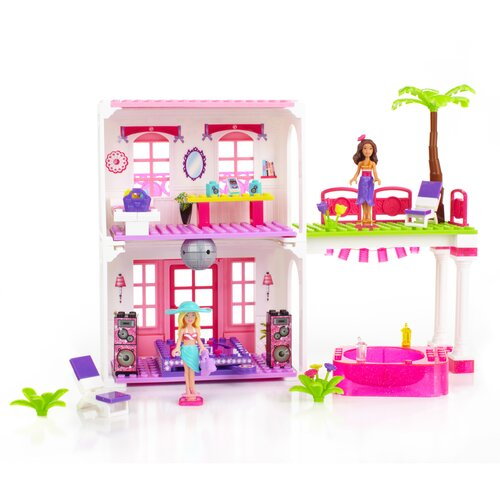 Mega Brands Barbie Build 'n Style Beach House