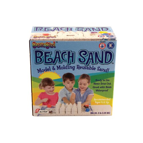 Activa Products Activa Beach Sand 3 Lb Box