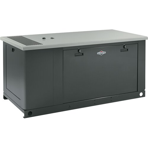 60 Kw Liquid-Cooled Single Phase 120/240 V Standby Generator in Steel Enclosure