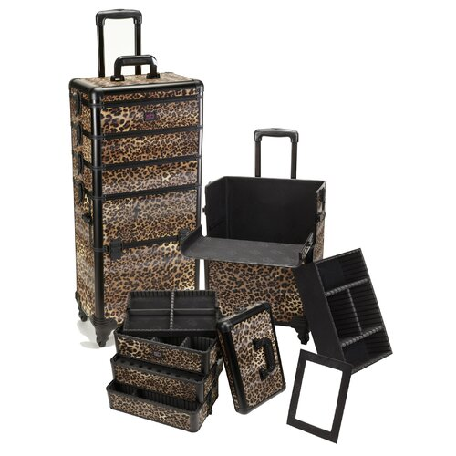 Seya Inc. Professional 4-1 Rolling Makeup Case