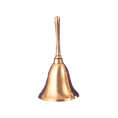 Affluence Unlimited Inc Brass Hand Bell 3 1/2 Inch