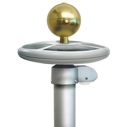 Annin & Company Solar Flagpole Light