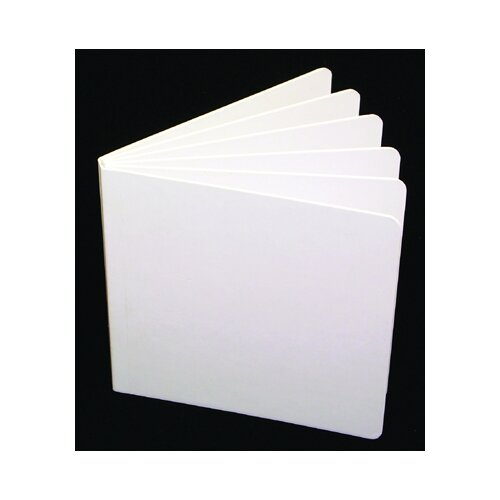 Ashley Productions Inc White Hardcover Blank Book