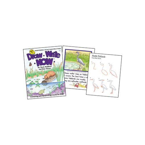 Barker Creek & Lasting Lessons Draw Write Now Book 6 Animals & hab