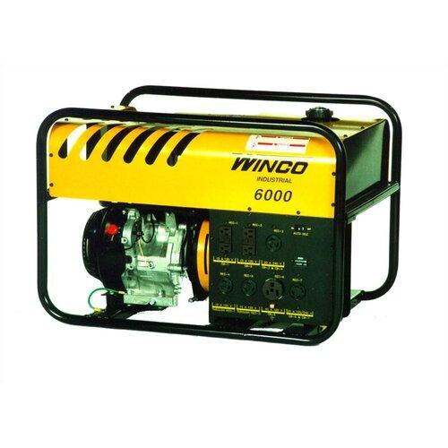 Winco Power Systems Industrial Series 6000 Watt Portable Gas Generator