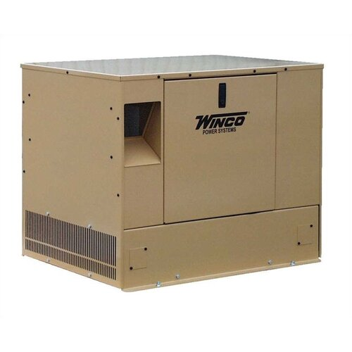 Winco Power Systems 8 Kw Single Phase 120/240 V Natural Gas Propane Standby Generator