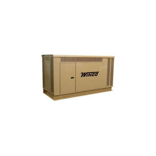 Winco Power Systems 40 Kw Three Phase 277/480 V Natural Gas Propane Standby Generator