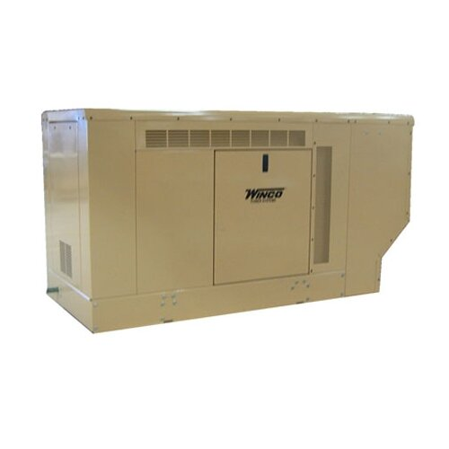 25 Kw Three Phase 277/480 V Natural Gas Propane Standby Generator