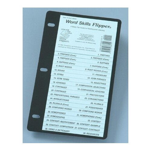 Christopher Lee Publications Word Skills Flip Up Study Guide