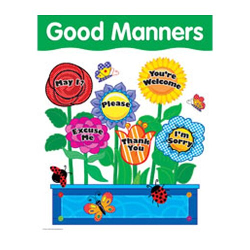 Creative Teaching Press Chart Manners