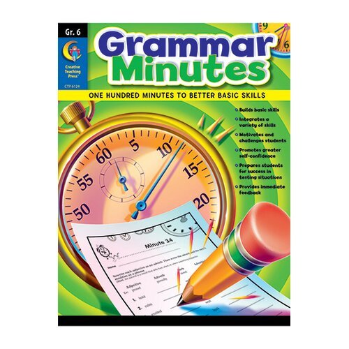Creative Teaching Press Grammar Minutes Gr 6