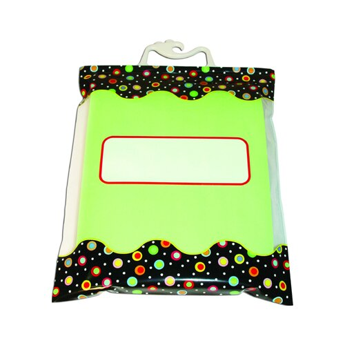 Creative Teaching Press Dots On Black Storage Bag