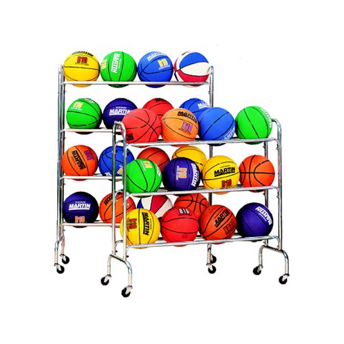 Dick Martin Sports 3 Tier Portable Ball Rack
