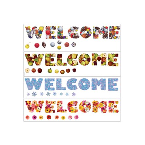 Edupress Seasonal Welcome Bulletin Board Set