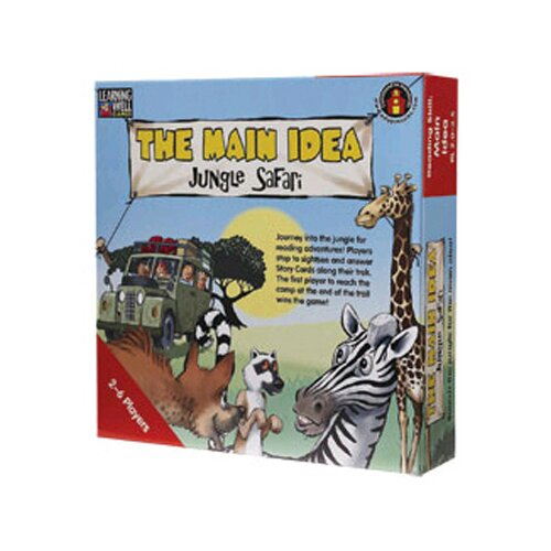 Edupress The Main Idea Jungle Safari Blue