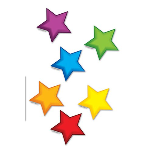 Edupress Colorful Stars Mini Accents