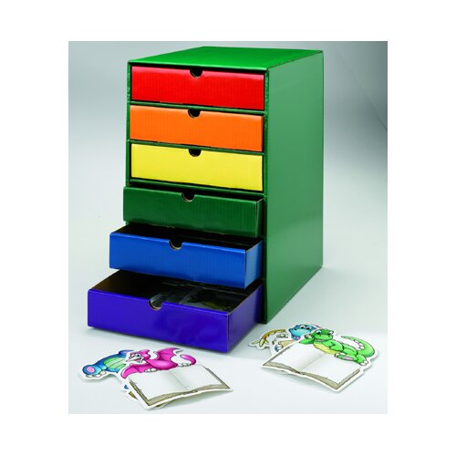 Edupress Drawers Assorted Colors Set Of 6
