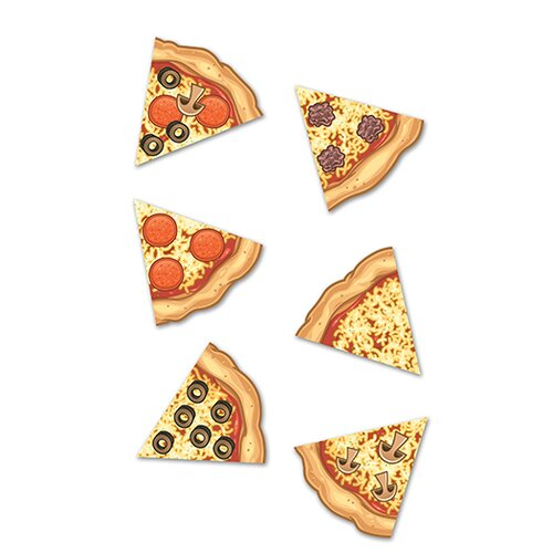 Edupress Pizza Slices Mini Accents