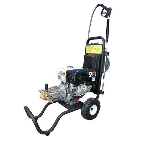 3000 PSI Cold Water Gas Pressure Washer with 9 HP Honda Engine