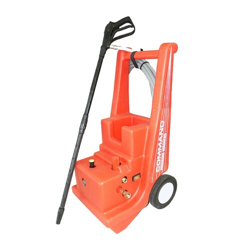 Cam Spray 1000 PSI Cold Water Electric Command Cart Pressure Washer with Mechanical Thermal Relief