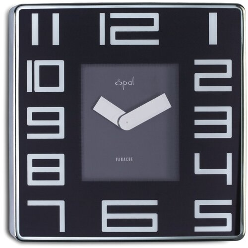 Stainless Steel Square Case Wall Clock