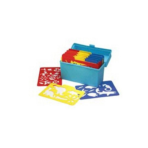 Essential Learning Products Stencil Mill 24/pk In Plastic Box