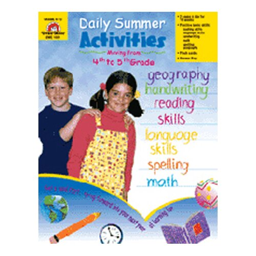 Evan-Moor Daily Summer Activities 4th To 5th