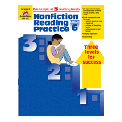 Evan-Moor Nonfiction Reading Practice Gr 6