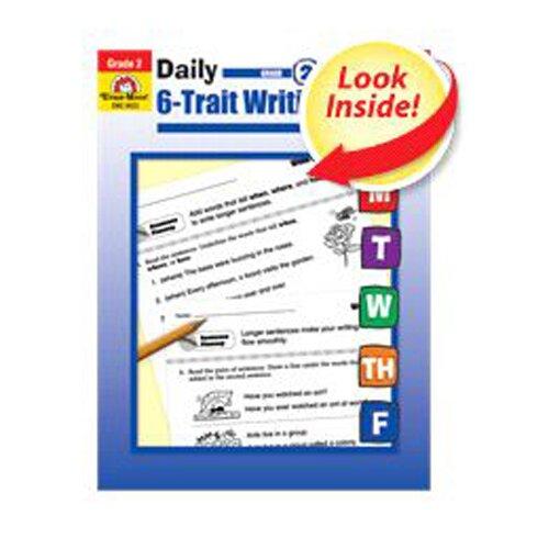 Evan-Moor Daily 6 Trait Writing Gr 2