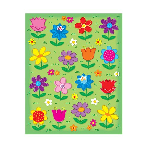Frank Schaffer Publications/Carson Dellosa Publications Flowers Shape Stickers 96pk