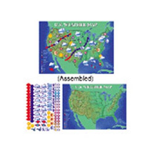 Frank Schaffer Publications/Carson Dellosa Publications Bb Set Interactive Weather Map