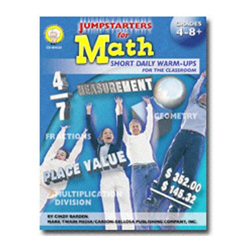 Frank Schaffer Publications/Carson Dellosa Publications Jumpstarters For Math Gr 7