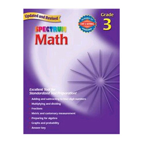 Frank Schaffer Publications/Carson Dellosa Publications Math Gr 3 Starburst