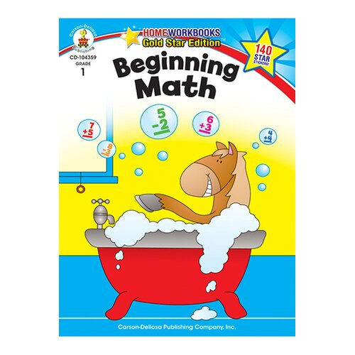 Frank Schaffer Publications/Carson Dellosa Publications Beginning Math Home Workbook Gr 1