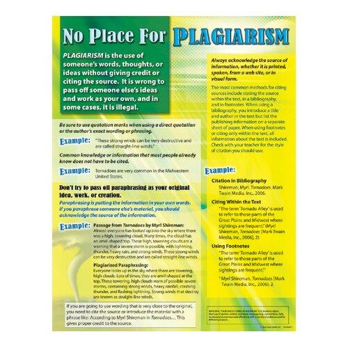 Frank Schaffer Publications/Carson Dellosa Publications No Place For Plagiarism