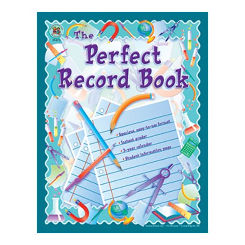 Frank Schaffer Publications/Carson Dellosa Publications Record Book The Perfect 8 X 11