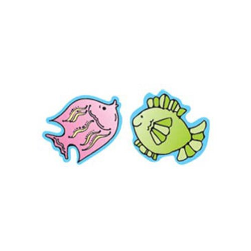 Frank Schaffer Publications/Carson Dellosa Publications Fish Stickers 20 Per Sheet Gr Pk-2