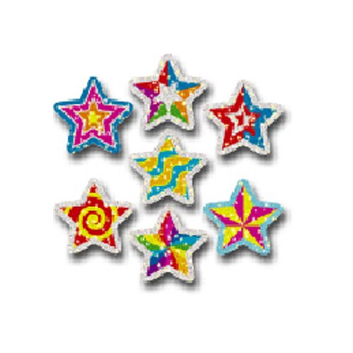 Frank Schaffer Publications/Carson Dellosa Publications Dazzle Stickers Star Power 75-pk