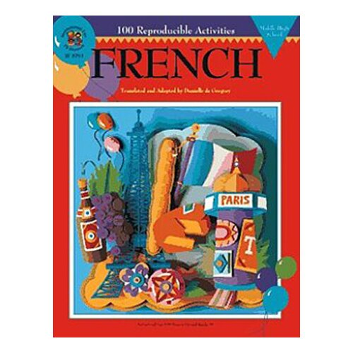 Frank Schaffer Publications/Carson Dellosa Publications French Middle/high School 100+