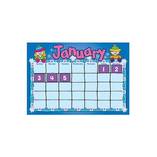 Frank Schaffer Publications/Carson Dellosa Publications DJ Kids Calendar Kit BB Set