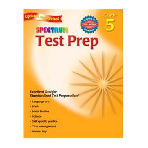 Frank Schaffer Publications/Carson Dellosa Publications Spectrum Test Prep Gr 5