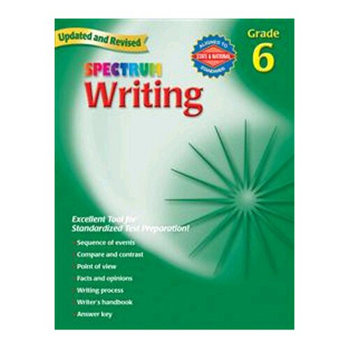 Frank Schaffer Publications/Carson Dellosa Publications Writing Gr 6