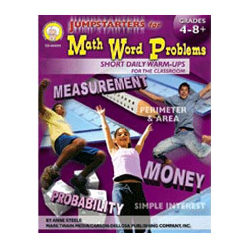 Frank Schaffer Publications/Carson Dellosa Publications Jumpstarters For Math Word Problems