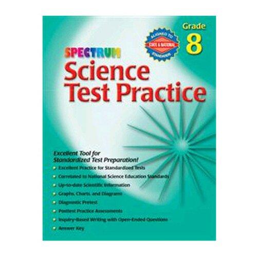 Frank Schaffer Publications/Carson Dellosa Publications Science Test Practice Gr 8