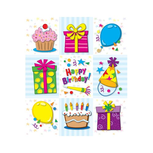 Frank Schaffer Publications/Carson Dellosa Publications Birthday Prize Pack Stickers